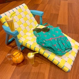 American girl beach chair lounge chair and more